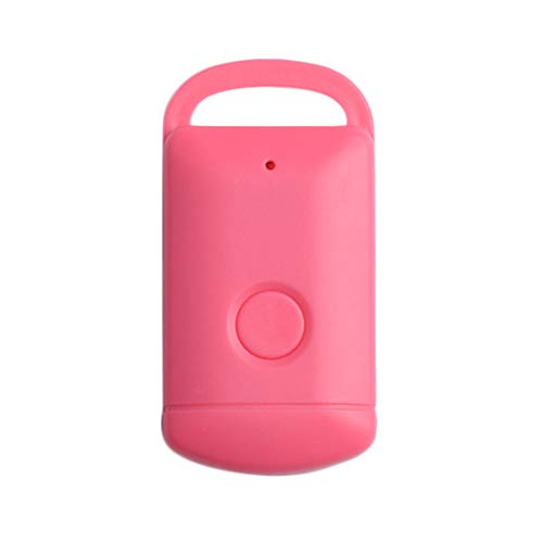 Clearance Sale!UMFun Car Motor GPS Tracker Kids Pets Wallet Keys Alarm Locator Realtime Finder Device Mini Tracker (Pink) ()