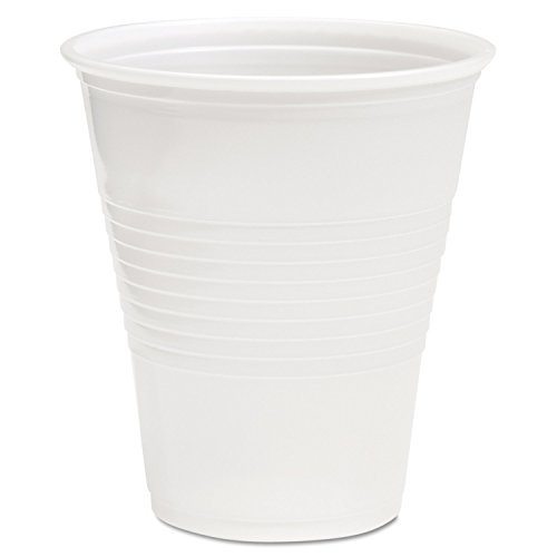 Boardwalk TRANSCUP14CT Translucent Plastic Cold Cups, 14oz, 50 Per Bag (Case of 20 (14 Oz Cup)