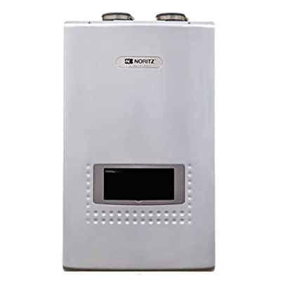 Noritz NRCP1112-DV-LP Condensing Tankless Water Heater 11.1-GPM with Integral Pump, White
