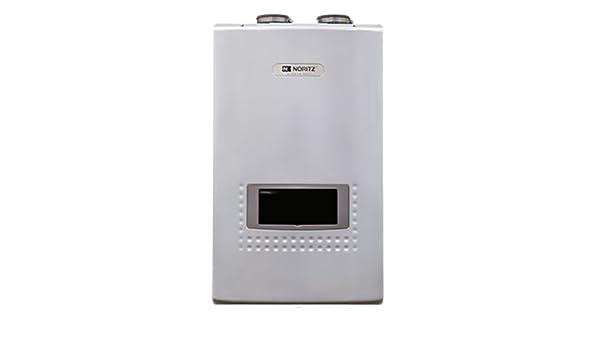 noritz nrcp1112-dv-lp 11.1-gpm de calentador de condensación de calentador de agua con bomba integrada), color blanco: Amazon.es: Bricolaje y herramientas