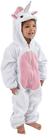 Fleece Baby Bunting Bodysuit – Infant Pajamas Kids Hooded Romper Outerwear Toddler Jacket