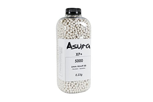 Asura XP+ 0.23 Gram 6mm Precision Airsoft BB 5000 ()