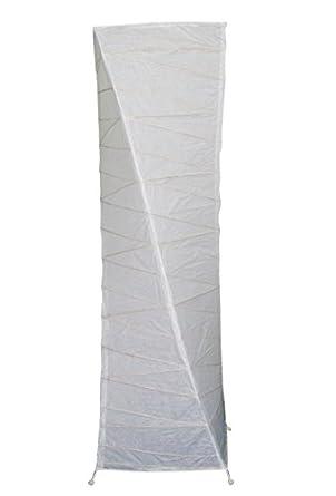 Lámpara de pie, papel blanco y patas metal – Para un salón ...