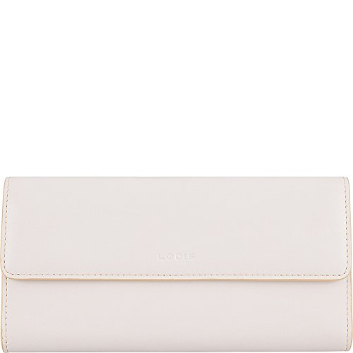Lodis Audrey RFID Checkbook Clutch Wallet (Cream/Natural) by Lodis