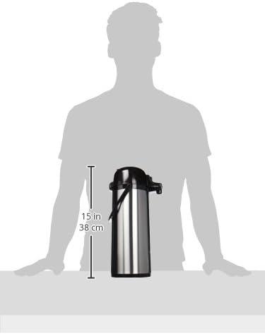 Quid 7520006 Termo 1.9 litros Acero Inoxidable y negro