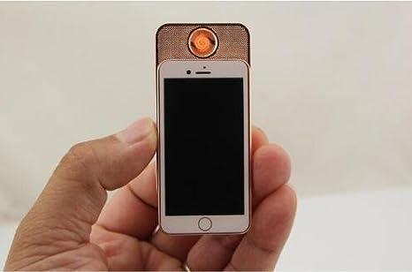 Amazon.com: Oro rosa Mechero USB mechero bajo el mechero ...