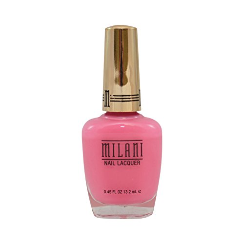 - Milani Gold Label Specialty Nail Lacquer, 02 Popping Pink, 0.45 fl oz