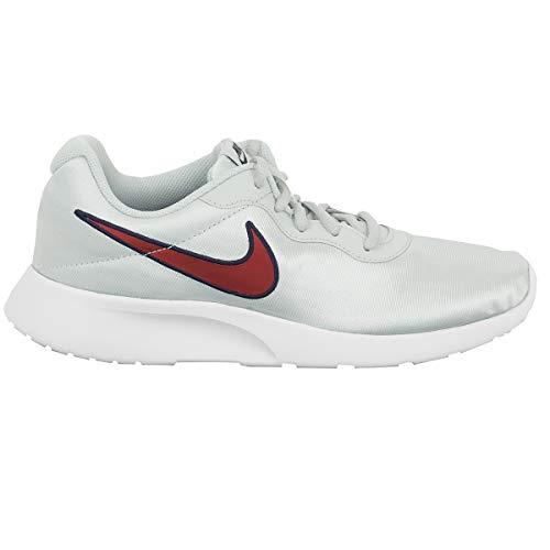 Nike Womens Tanjun SE Running Trainers 844908 Sneakers Shoes (UK 4.5 US 7 EU 38, Pure Platinum red Crush 010) ()
