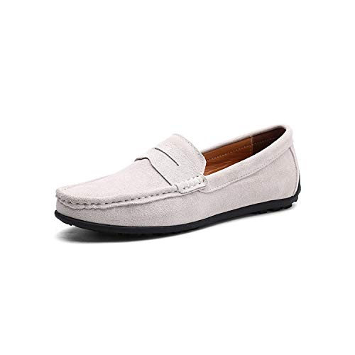Threeflower Luxury Casual Shoes Men Suede Leather Moccasins Loafers Slip On Men Shoes Plus Size -