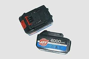"ETOP Cordless Impact Wrench Tools 48v Li-ion 4000 mAh Gun Ratchet Rattle 24 1//2/"""