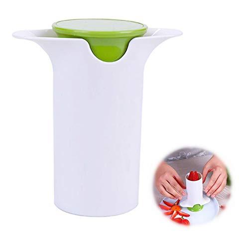 Deeshin Portable Vegetable Fruit Slicer, Strawberry Slicer, Grape Slicer, Potato Cutter, Cucumber Slicer, Carrot Cutter, Fruit Salad Making Pizza Fruit Dispenser, Vegetable Masher