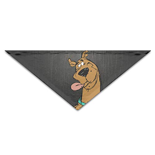 OLOSARO Dog Bandana Scooby Doo Stitched Triangle Bibs Scarf Accessories for Dogs Cats Pets Animals]()