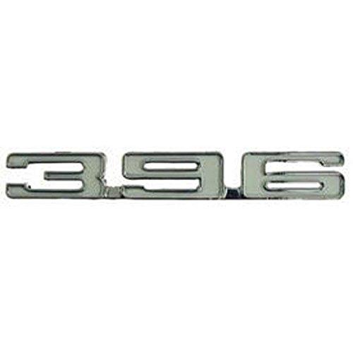 Eckler's Premier Quality Products 33-187341 Camaro Fender Emblem, 396, Right,