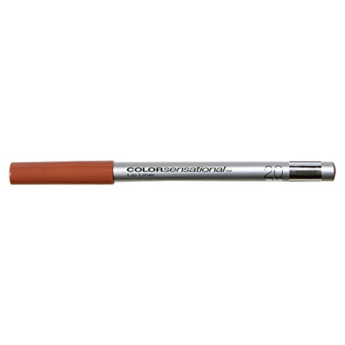 Maybelline New York ColorSensational Lip Liner, Nude 20, 0.04 Ounce