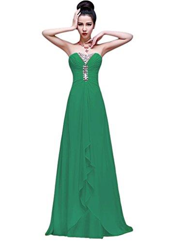 Vimans -  Vestito  - linea ad a - Donna Green 46