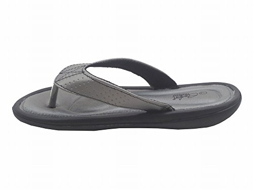 Blue Stoke Rubber Womens Flip Flops Beach Summer Thongs EVA Foam Rubber Sandals Grey aAiGNhj