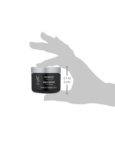 V76 by Vaughn TEXTURE CLAY Medium Hold Formula for Men by V76 by Vaughn (Image #3)