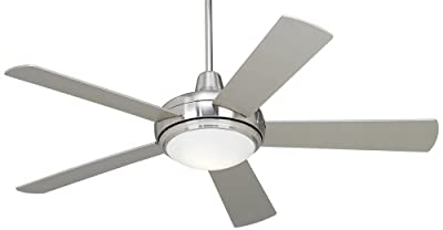 "52"" Casa Compass Brushed Nickel Ceiling Fan"