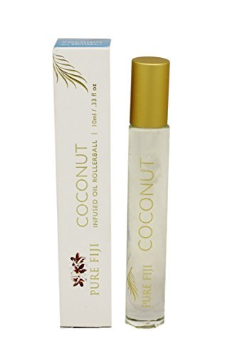 Pure Fiji Coconut Infused Oil Rollerball, 0.33 oz. by Pure Fiji