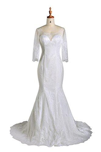 99 lace wedding dress - 7