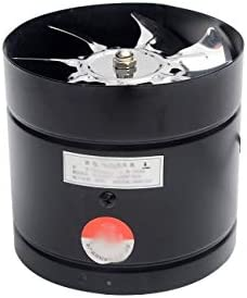 JYDQM Ventilador de Escape de Inodoro de Cocina de 8 Pulgadas, Ventilador de Escape de Tubo de 8 Pulgadas, Ventilador de Techo, Extractor de Metal
