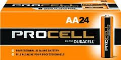 Duracell Procell AA 24 Pack PC1500BKD09 (Duracell Aa)