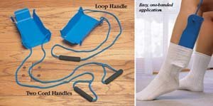 North Coast Medical NC32500 Sock-Assist with Loop Handle by North Coast Medical