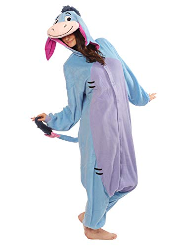 SAZAC Eeyore Kigurumi - Adults Costume