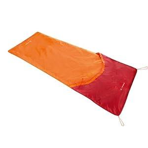 Vaude 10333 Biwak I - Cubierta para saco de dormir individual, color naranja 7