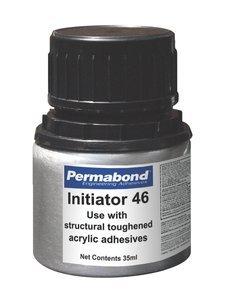 35mL Bottle PermabondInitiator 46 Amber/Yellow Liquid Adhesive Activator