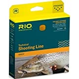 Rio Fly Fishing Fly Line Connect core Shooting Line .037 Fishing Line, Orange