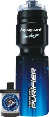 Aquaguard On the Go Portable Gravity Based Water Purifier (Black)