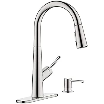 Hansgrohe Lacuna Pull Down Kitchen Faucet Amazon Com