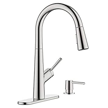 Hansgrohe Lacuna Pull Down Kitchen Faucet Chrome Amazon Com