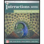 img - for Title: INTERACTIONS ACCESS:LISTEN./SP book / textbook / text book