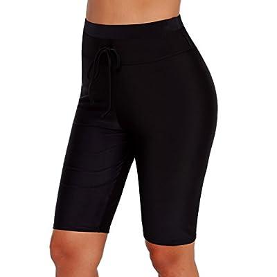 Grace's Secret Women's Sexy Bikini Bottoms Strappy Swim Briefs Solid Shorts Tankini Swimsuit at Women's Clothing store