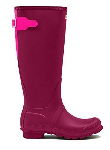 Jegere Støvler Kvinners Opprinnelige Tilbake Justerbare Støvler Mørk Ion Rosa / Ion Rosa