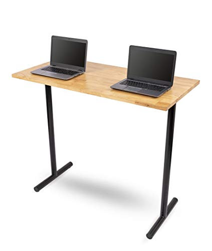 Block Butcher Solid Table Wood - Stand Up Desk Store 48