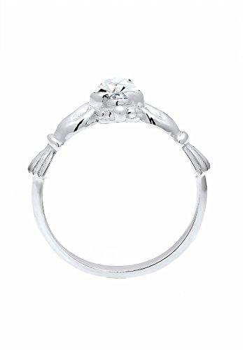 Elli - Bague - Argent 925 - Cristal - T52 - 0607782215_52