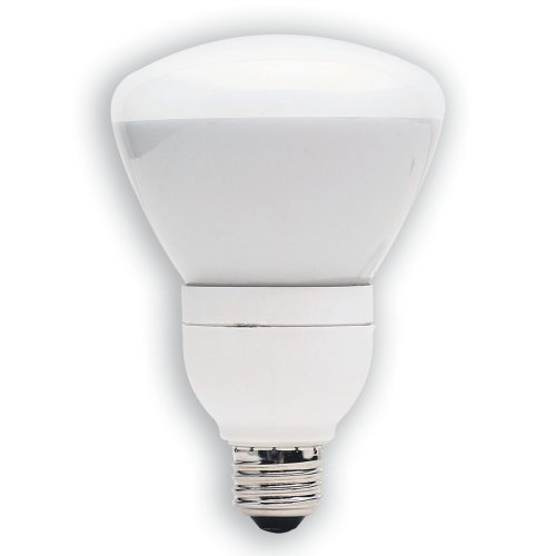 GE 21710-3 15-Watt (65W Equivalent) Energy Smart Floodlight Dimmable R30 Light Bulb, 3-Pack (R30 Dimmable Compact)
