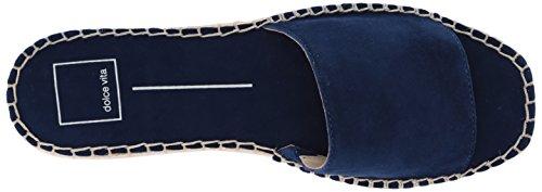 Dolce Vita Women's Bobbi Slide Sandal Navy Suede QCBzp0azgU