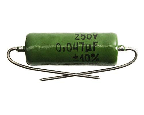 Russian K42Y-2 Paper-in-oil Capacitor for Guitar Tone