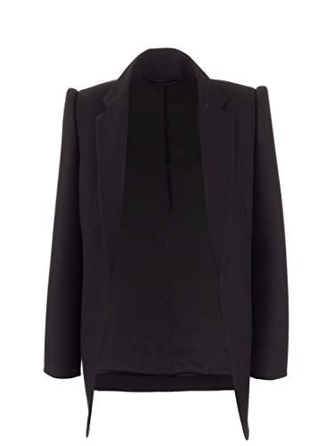 Balenciaga Luxury Fashion Woman 595125TYI201000 Black Wool Blazer | Fall Winter 19