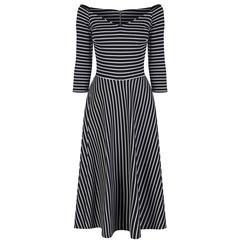Pretty Kitty Fashion - Robe - Cocktail - Manches 3/4 - Femme Noir Noir 38 40 42 44 46