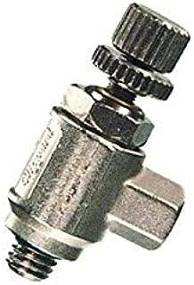 "product image for Clippard MNV-4K2 Miniature Needle Valve, 1/8"" Hose Fitting with Knurled Knob, 5 scfm @ 100 psig"