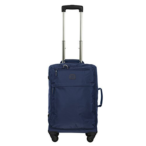 Bric's X Travel 2.0 21 Inch International Carry on Spinner, Denim by Bric's
