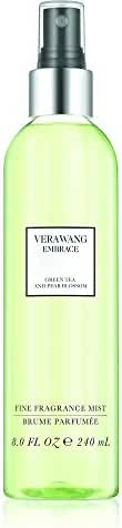 Vera Wang Embrace Body Mist for Women, Green Tea and Pear Blossom, 8.0 Fluid Ounce