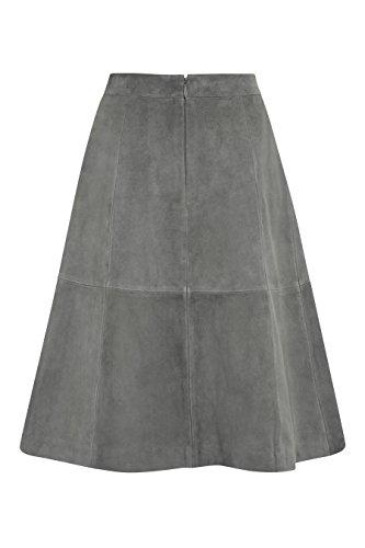 next Mujer Falda De Ante Regular Ropa Carbón