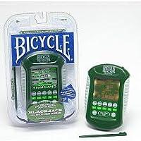 Bicicleta iluminada Touch Pad Electronic Handheld Blackjack Game