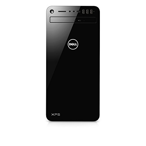 - Dell XPS 8930-7814BLK-PUS Tower Desktop i7-8700 32GB DDR4 RAM, 1TB Hard Drive + 16GB Intel Optane Memory, 6GB Nvidia GeForce GTX 1060, DVD Burner, Windows 10 Pro, Black (Renewed)